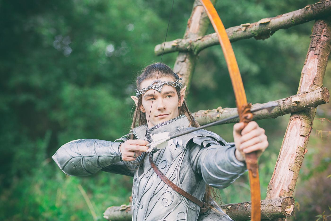 Od dawna tliła mi się wizja na sesje ślubną w stylu fantasy. Elfy, ponieważ są moimi ulubionymi postaciami fantasy.