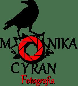 Logo fotografa z Krakowa. Monika Cyran fotograf.