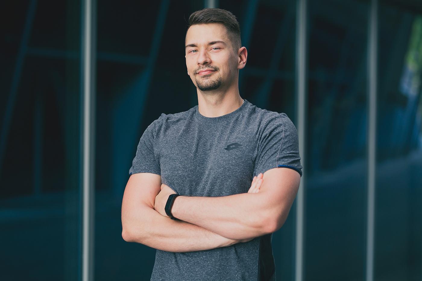 Sesja wizerunkowa trenera personalnego Kraków